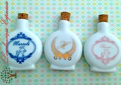 lembrancinhas de primeira comunhao aguabenta garrafinha porcelana
