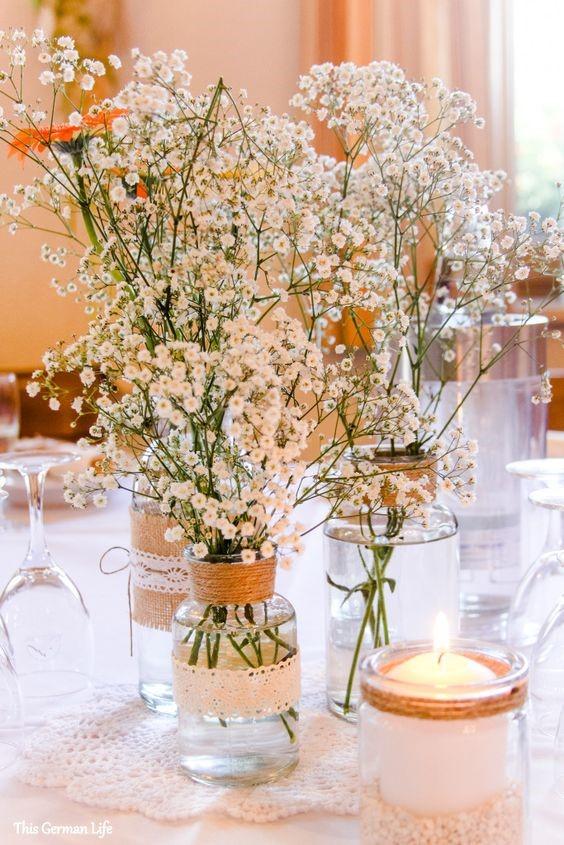 Dicas de decoraç u00e3o para Primeira Eucaristia Lembranças Especiais # Decoração De Primeira Comunhão Simples Com Flores
