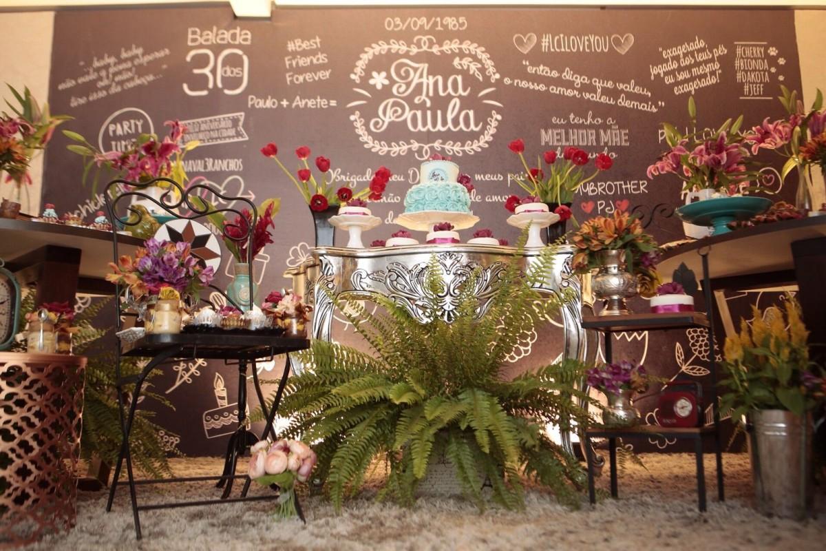 Festa de aniversário 30 anos diferente: Como organizar