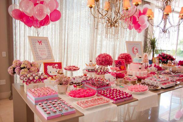 5cb07f597 6 Temas para festa 1 ano feminina com fotos e inspirações ...
