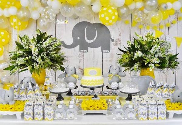 Aniversário infantil de tema elefantinho com dicas e inspirações