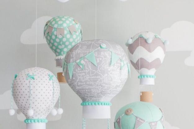 Quarto de bebê com balões: 10 ideias de decoração!