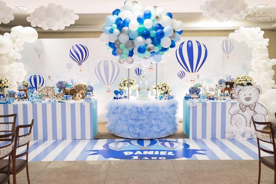 Aniversário de 1 ano diferente – Lembrancinhas tema balão