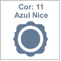 Cor 11: Azul Nice (acinzentado)