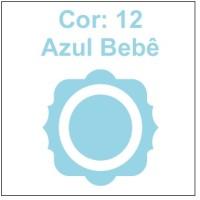 Cor 12: Azul bebê