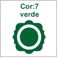 Cor 7: Verde
